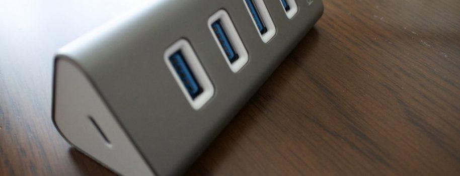 MacBookと一緒に買ったもの: dodocool USB-C to USB-A 3.0×4 USB-C×1 ハブをレビューします