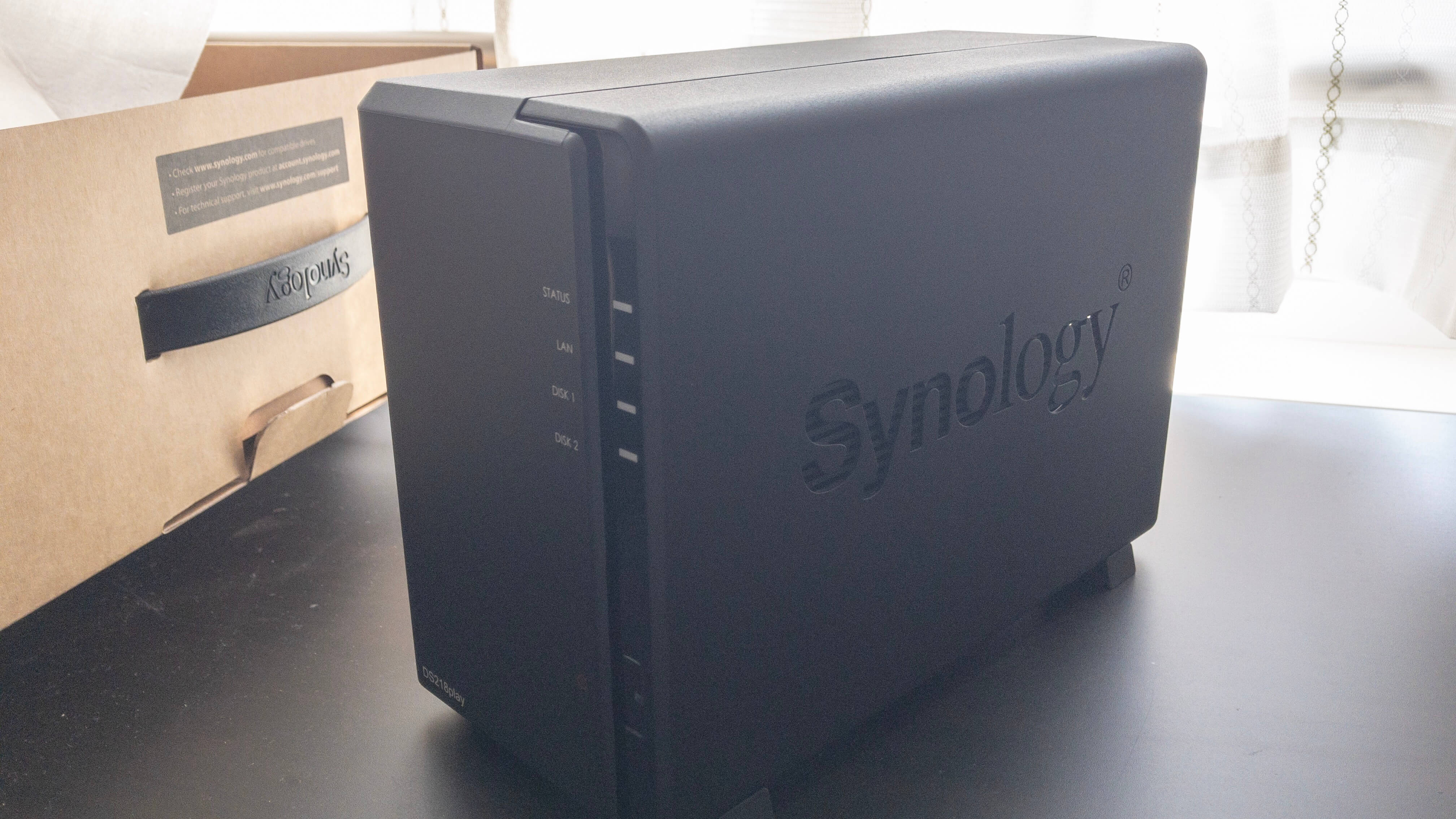 NAS🍆『Synology DS218play』の組み立てとセットアップ