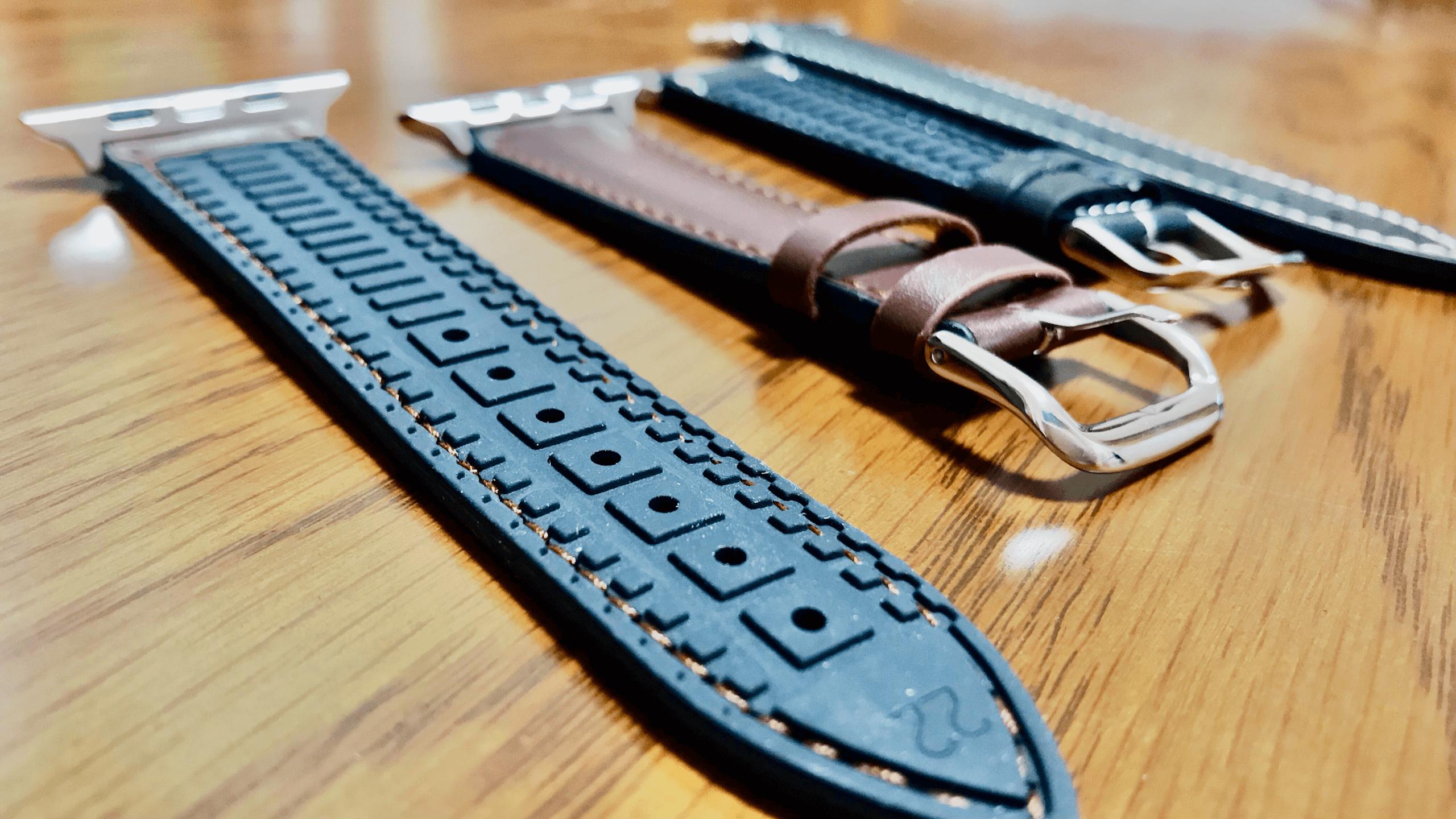 Apple Watchの革バンドはレザー×シリコンがおすすめ!普段使いできる耐久性とビジネスにも適したレザーの良いとこ取り!