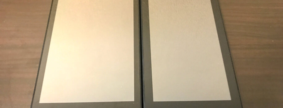 Fire 7とFire HD 8を写真で比較! サイズ感や細かい部分をチェック。