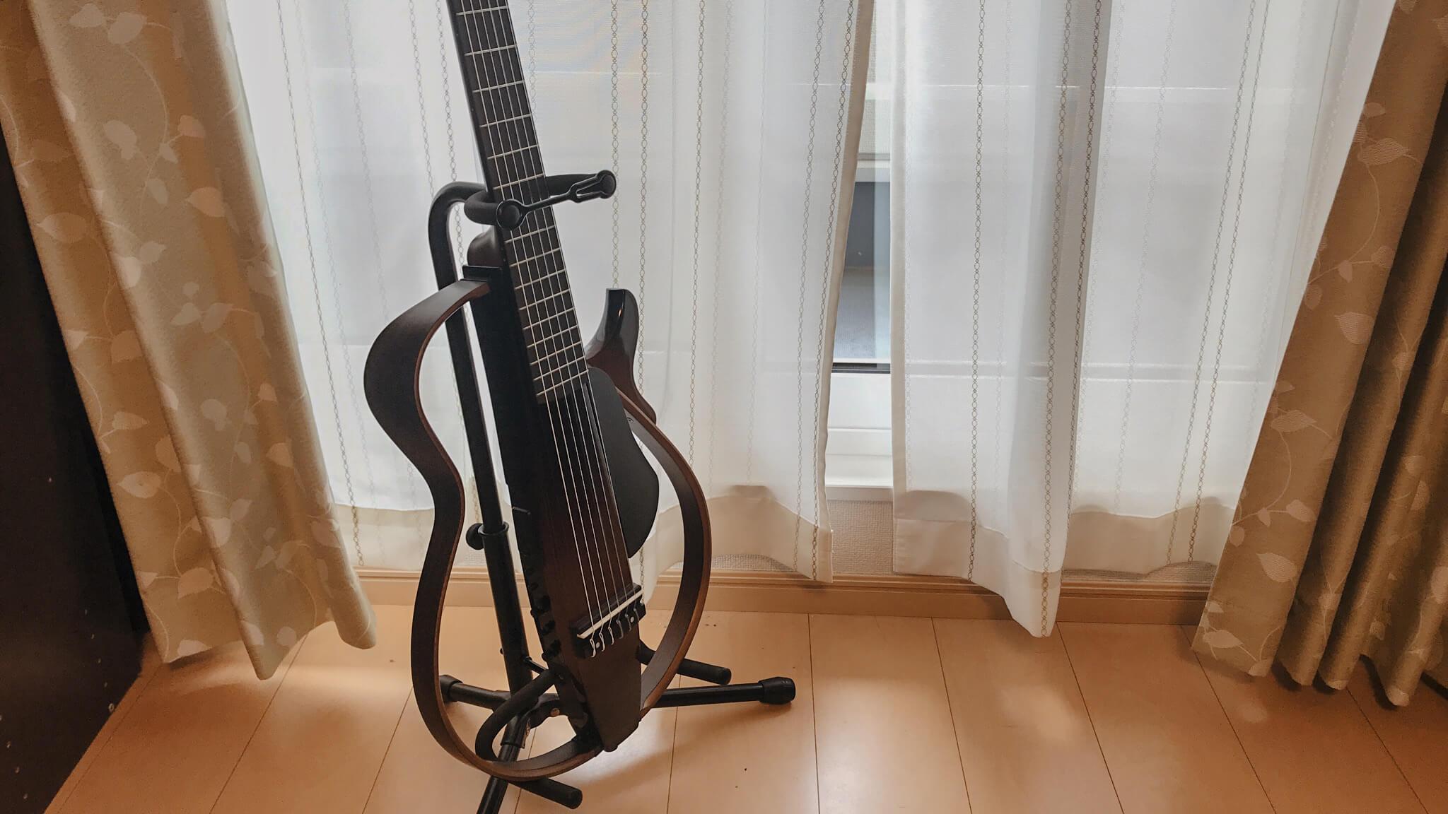 妻にヤマハの電子ギター『SLG200N』を買った話