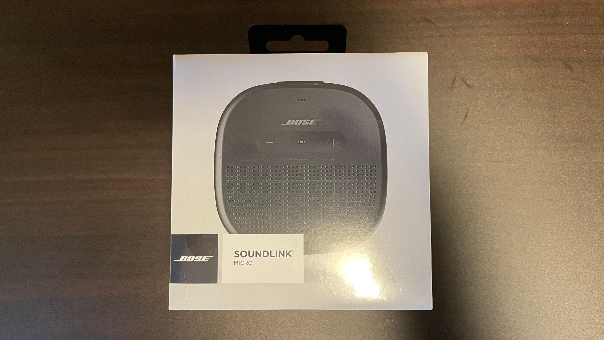 『BOSE SoundLink Micro』をレビューします! アウトドア・レジャー・スポーツにもお風呂にも最適!